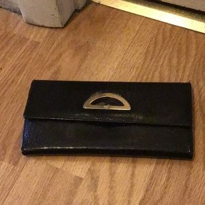 Christian Dior patent leather wallet💋flash sale💋
